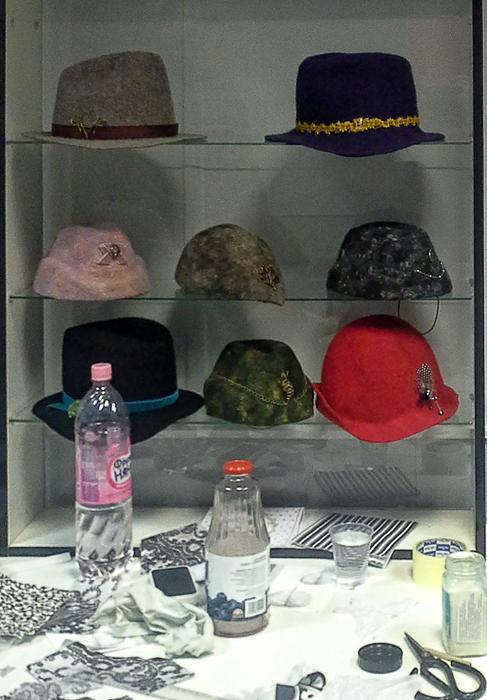 выставка, шляпы, пальто, войлок, новость