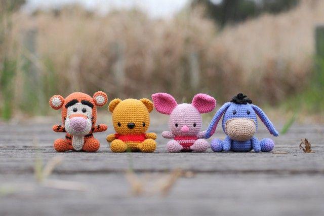 Amigurumi Winnie The Pooh : ??????? ????????? ? ???????: ???????? ????? ? ???????? ...