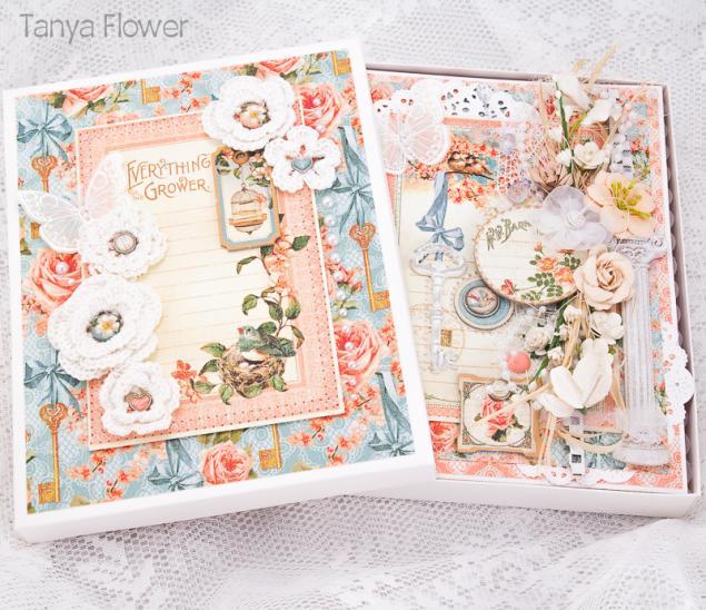 открытка в коробочке, открытка для денег, открытка премиум класса, дорогая открытка, открытка на свадьбу, открытка с птицами, таня флауэр, tanya flower, красиво подарить деньги, люксовая открытка