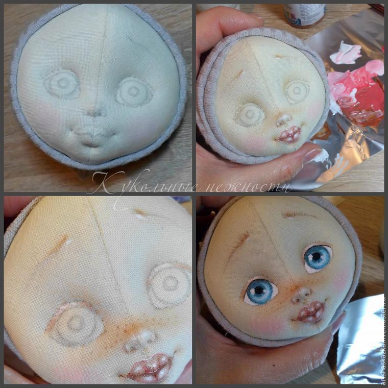 Изготовление текстильных кукол своими руками