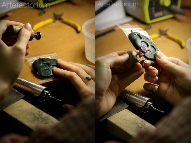 кольцо, резьба по камню, мастер-класс