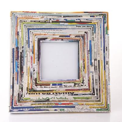 Рамка для картины из бумаги своими руками