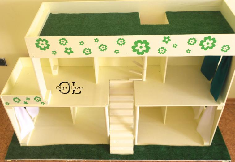 Мебель для барби своими руками для дома