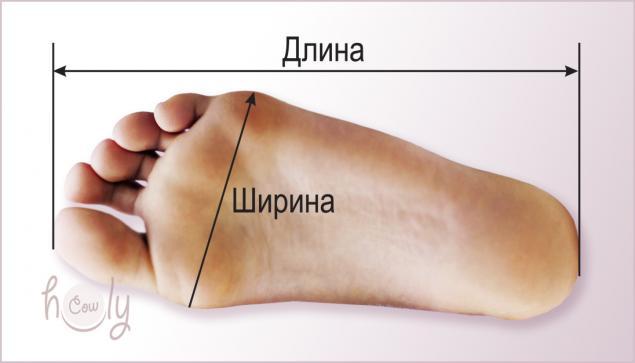 длина стопы, мерки стопы, размер обуви, размер стопы, размер ноги, мерки ноги, ширина стопы