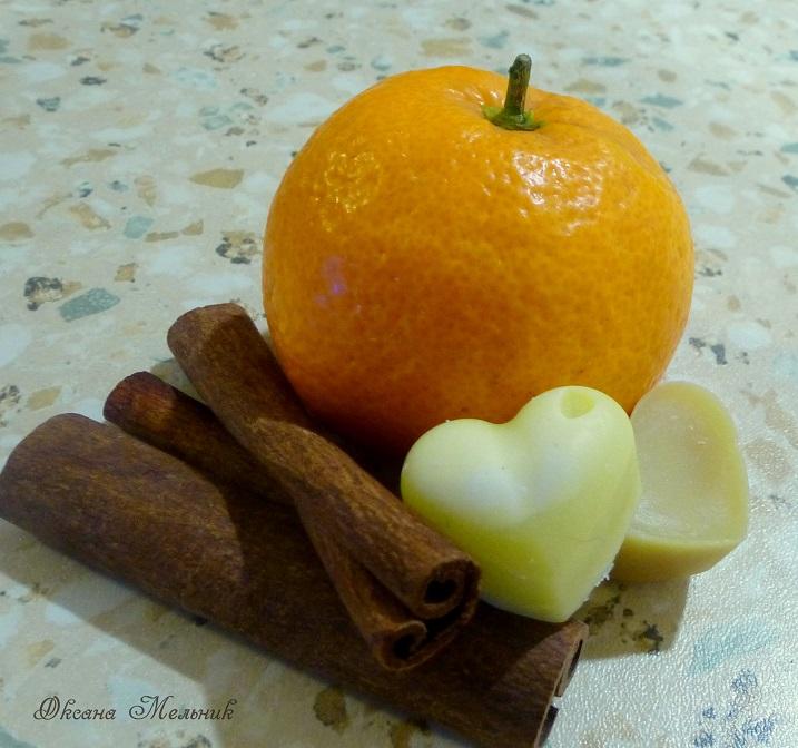 подарок, апельсин