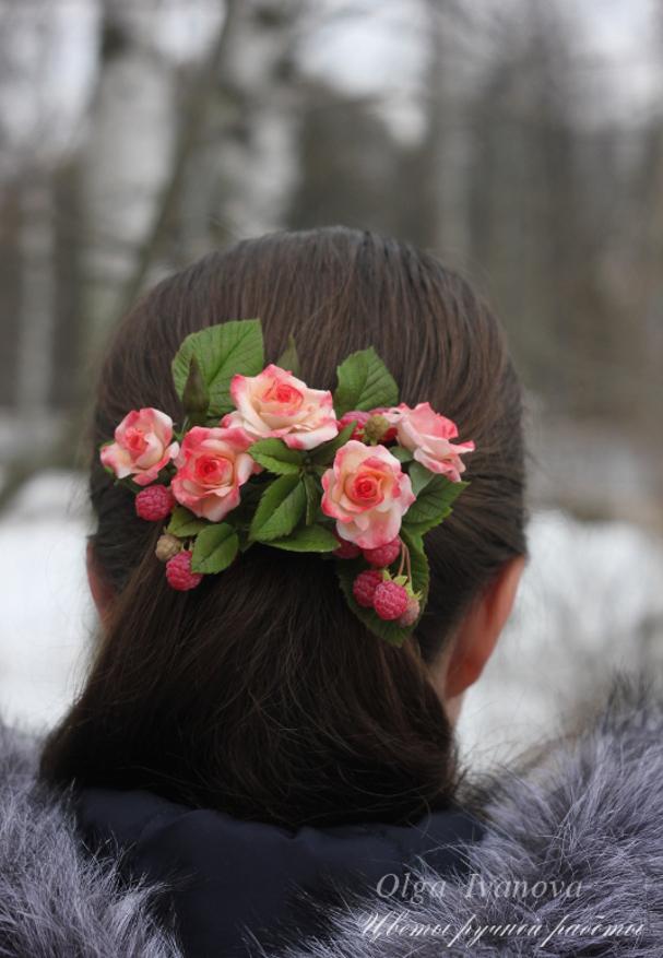 заколка, весна