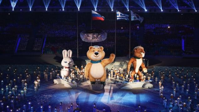 олимпиада, 27 февраля, мишка в подарок