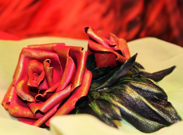 мк, мк по цветоделию, роза из кожи, бульки, буление, мастер-класс по цветам, роза бульками, курсы по мягкой коже, экспресс курс, мастер-классы