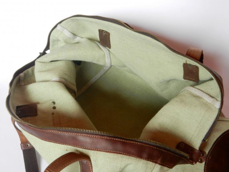 Мужская сумка из брезента своими руками 35