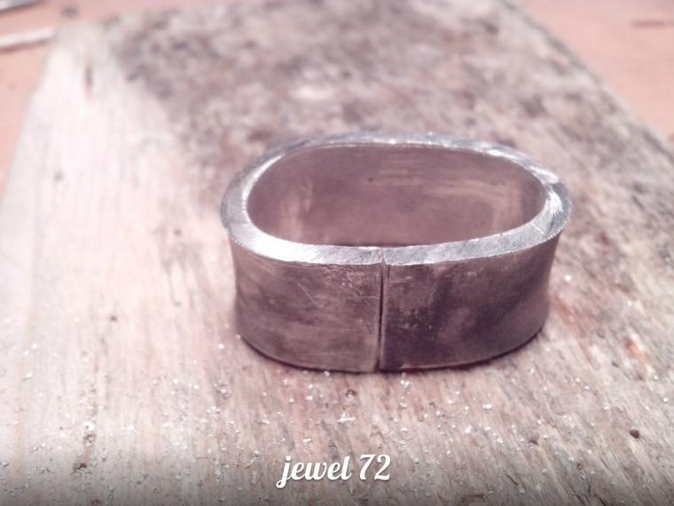 Делаем стильное кольцо из серебра, фото № 9
