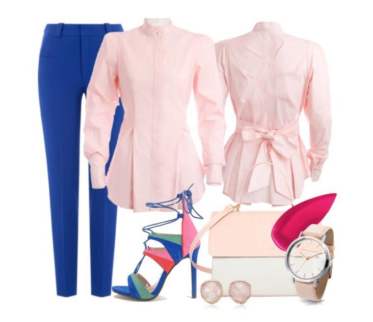 блузка, белый цвет, классический стиль, размеры, в подарок