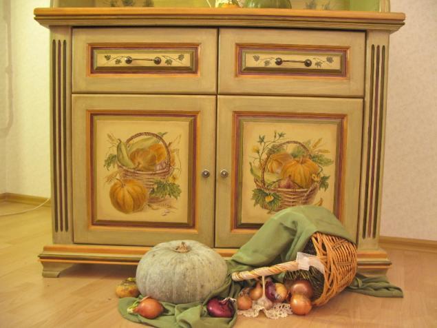 роспись мебели, живопись, вазы