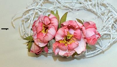 ободок, мастер-класс, цветы, флористика