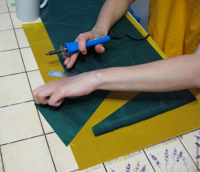 Флажки из ткани для детского сада своими руками 49