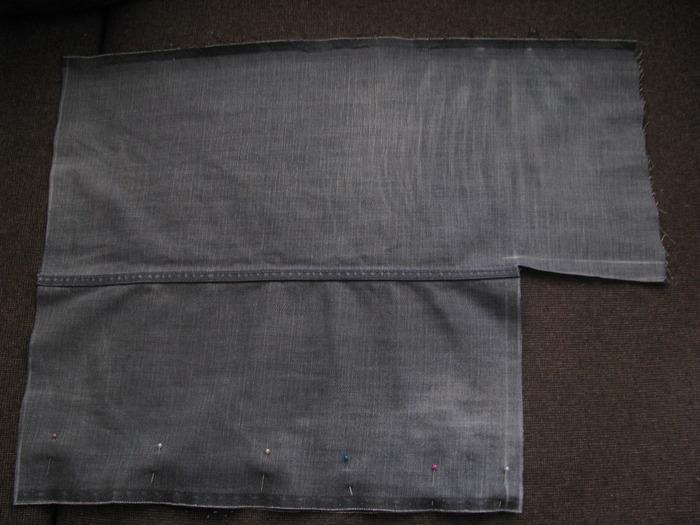 сумка из ткани