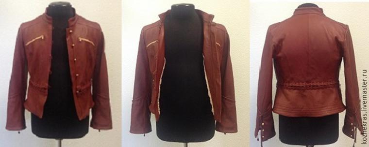 покраска куртки, роспись куртки