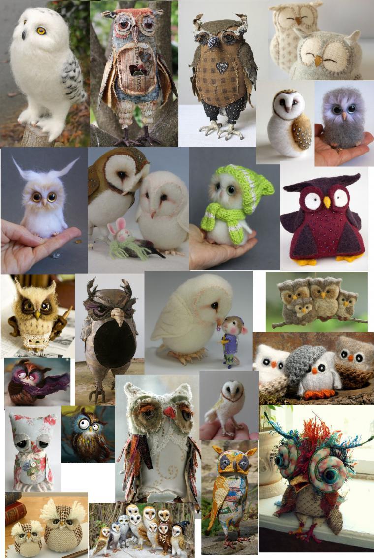 подарки с совами