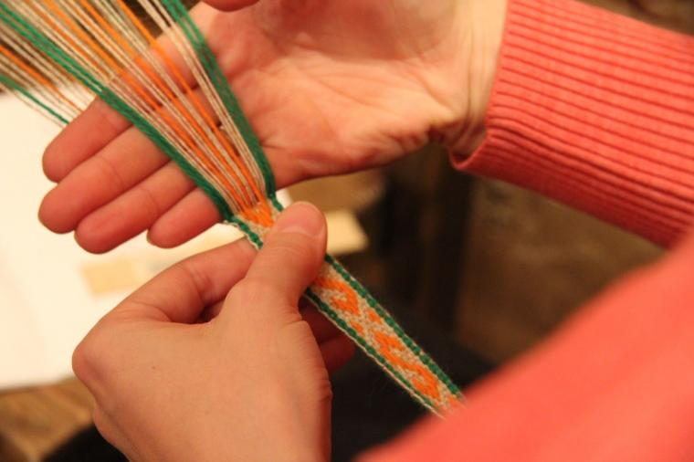 ткачество, славянские традиции, плетение