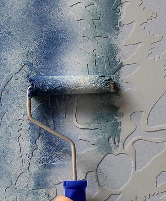 Колоритно и фактурно 20 креативных идей для декора стен и пола, фото № 30