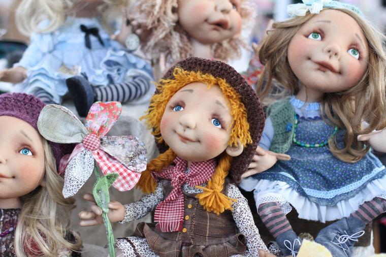 Международной выставка авторских кукол и мишек «Панна DOLL'я» в Минске. Часть 1., фото № 1