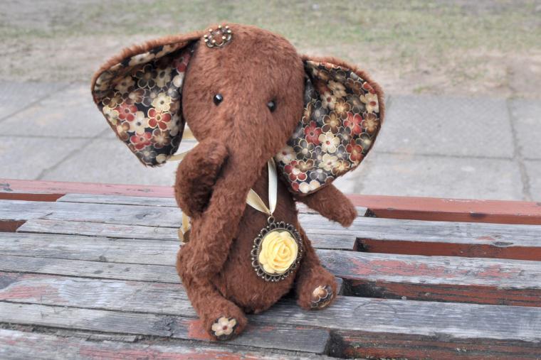 слоник тедди, себе любимой