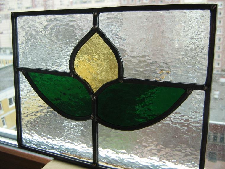 мозаика на стекле