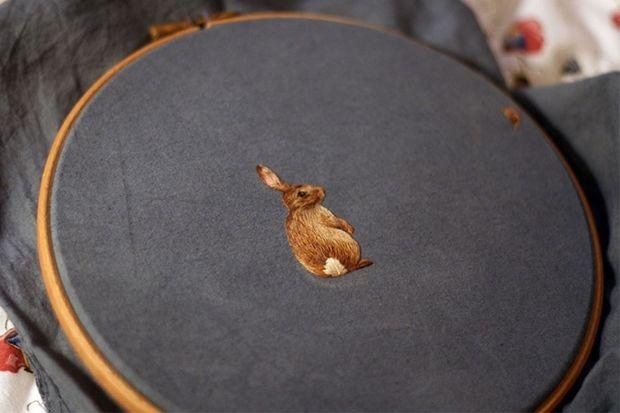 миниатюрная вышивка