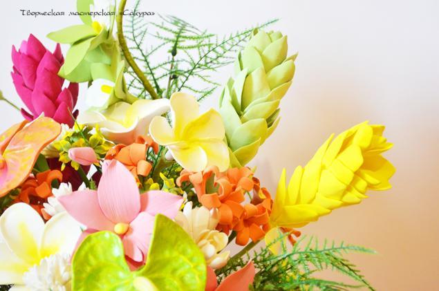 цветы ручной работы, ручная работа
