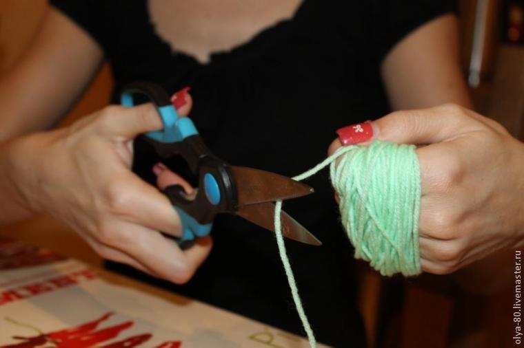 Процесс создания веселого коврика, фото № 6