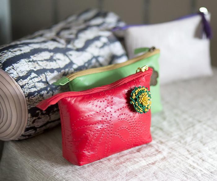 косметичка, курс обучения, курсы, сумка ручной работы, подарок своими руками, сумка своими руками, косметичка из кожи