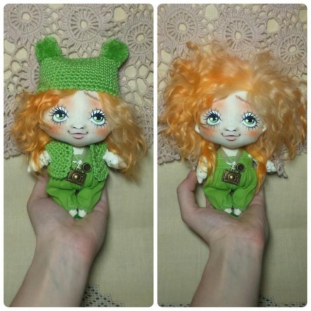 мастер класс по кукле, интерьерная кукла