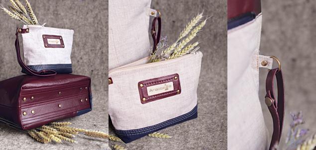 сумка с декором, сумка на молнии