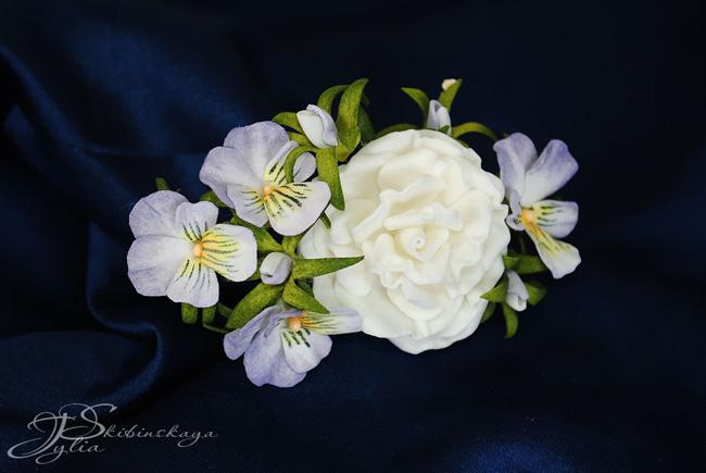 фоам, цветы из фоамирана, мастре-класс, роза из фоамирана
