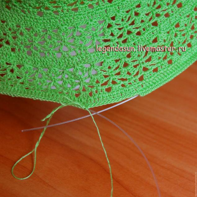 Мастер класс по вязание шляпки ромашки