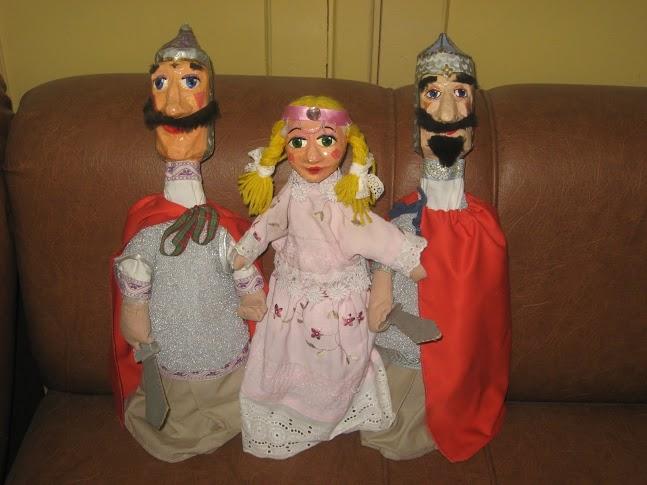 творим с детьми, кукольный театр, творчество