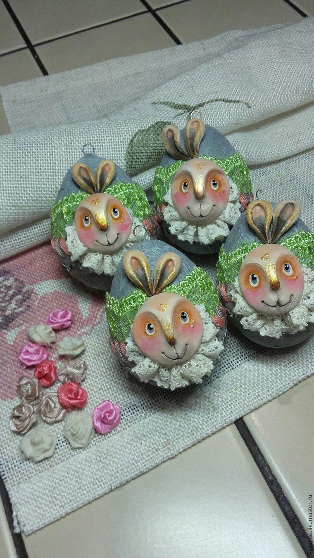 Делаем пасхальные яйца для праздничного интерьера, фото № 17