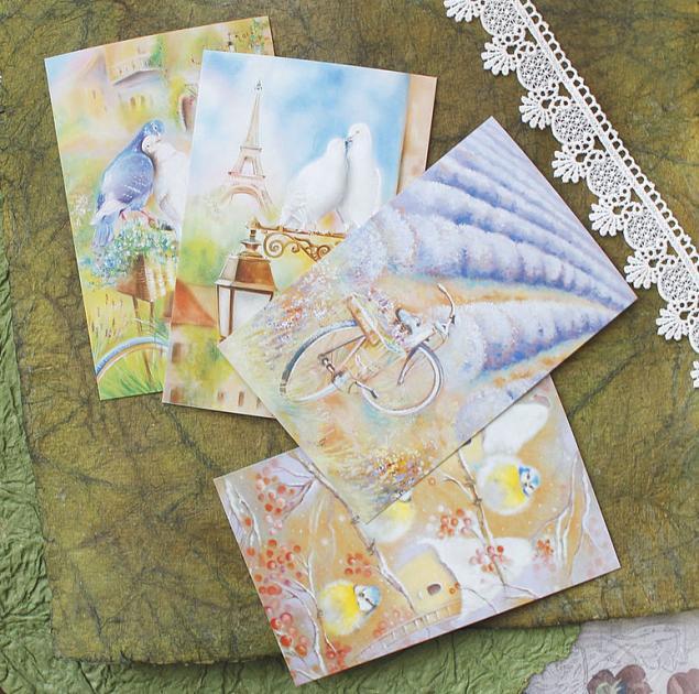 день святого валентина, подарок любимому, для любимых, набор открыток, открытки