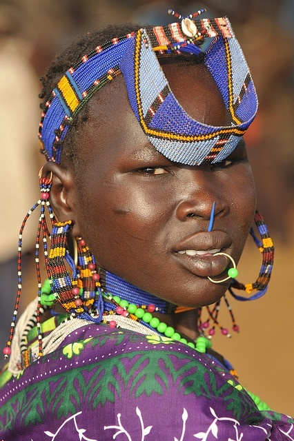 Africa |  Jie girl.