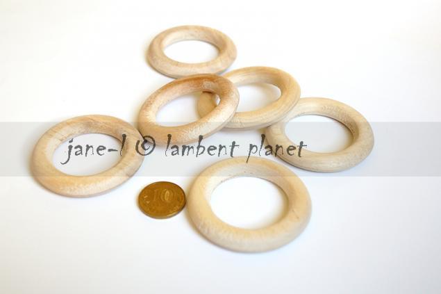 кольцо, прорезыватели, береза