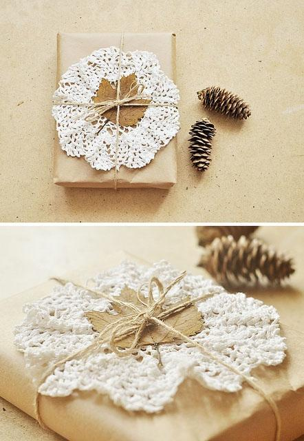 красиво завернуть подарок