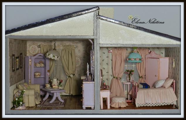 Кукольный дом. Двухкомнатный коттедж., фото № 8