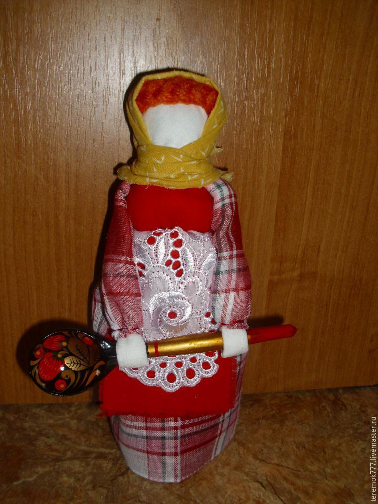 """Мастер-класс: кукла """"Помощница на кухне"""" своими руками - Ярмарка Мастеров - ручная работа, handmade"""