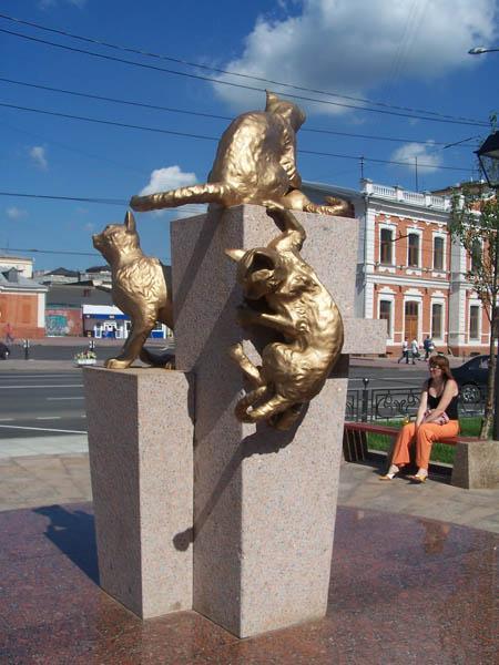 Памятники кошкам блокадного Ленинграда., фото № 3