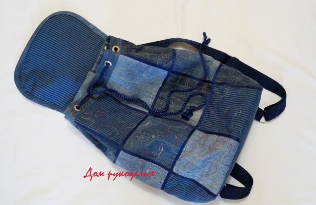Шьем рюкзак из старых джинсов купить велорюкзак в казахстане