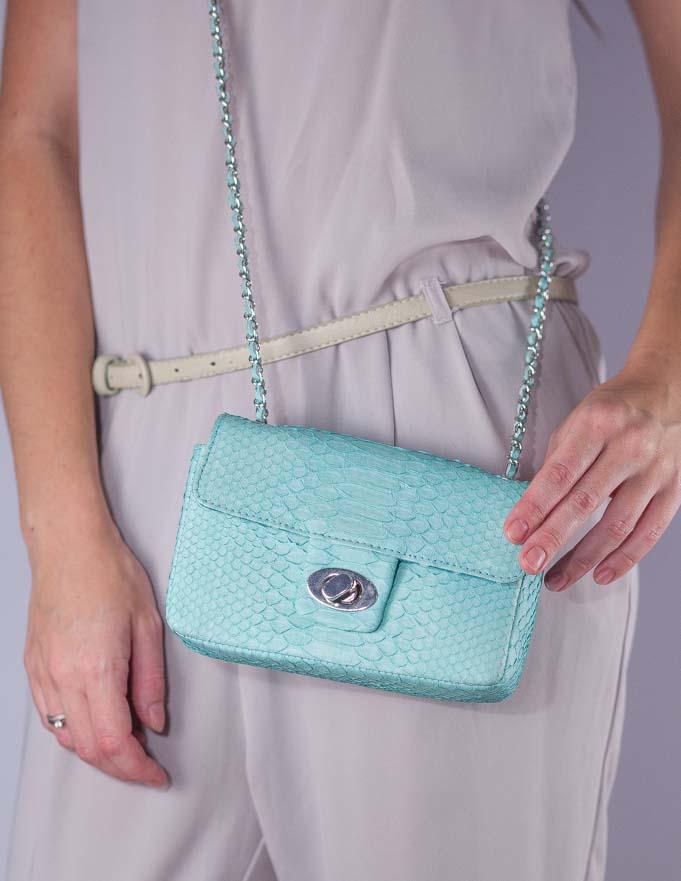 распродажа сумок, акция на сумки, сумки из питона скидка, сумка из питона, сумка на цепочке, стиль шанель