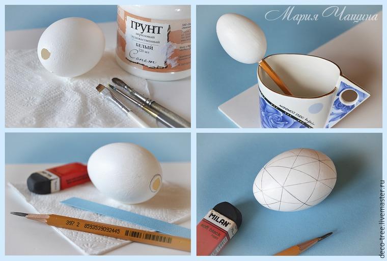 Мастер-класс: пасхальное яйцо в гнезде и подарочной коробочке, фото № 13