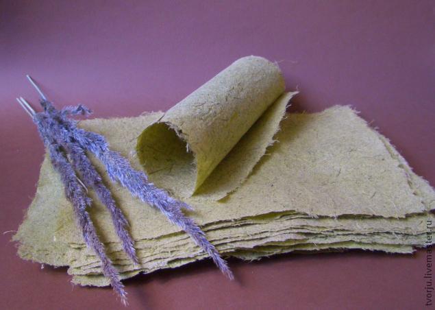 Как сделать ручную бумагу