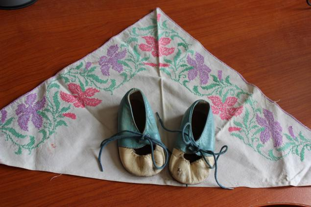 детство, туфельки