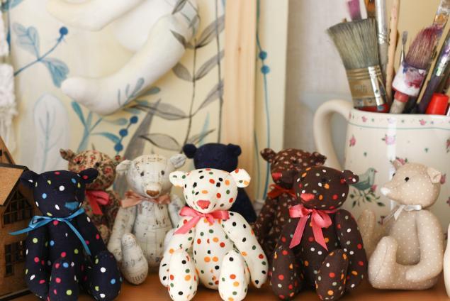 игрушки ручной работы, весенняя акция, мишки-тедди, сова