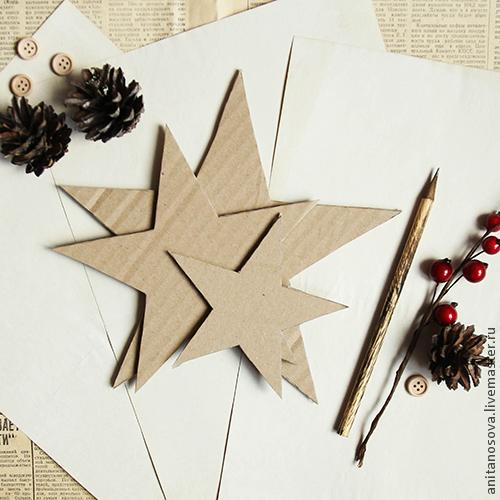 Рождественская звезда своими руками, фото № 5
